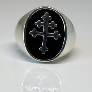 Other - 925 Sterling Silver Knights Templar Ring